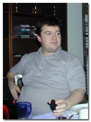 Mynd af mér í nóvember 2000 - 114kg