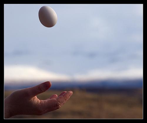egg af himnum ofan