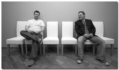 Matthías Ásgeirsson og Davíð Torfi Ólafsson