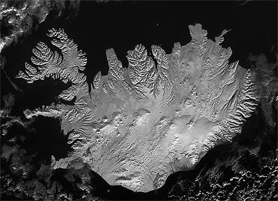 Ísland að vetri
