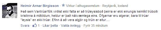 Heimir Arnar Birgisson