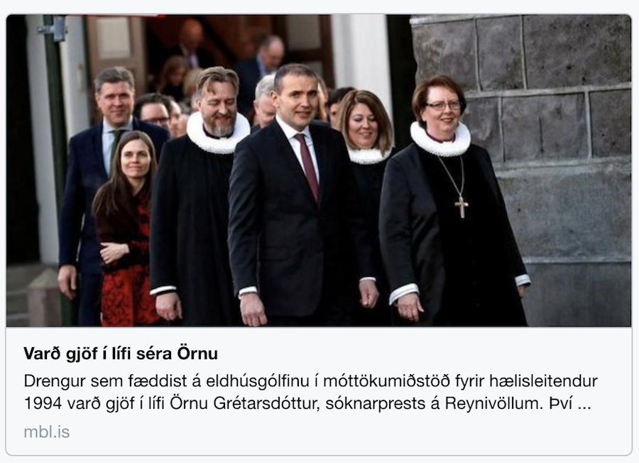 Þingsetning